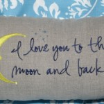 I love you to the moon..